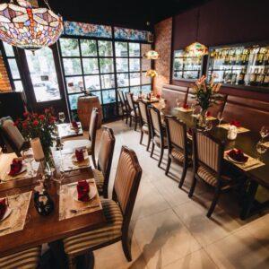 Không gian nhà hàng Âu Grill6 Steakhouse